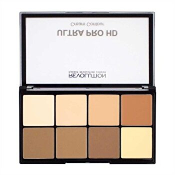 Paleta corector London HD Pro Cream Contour - Light Medium