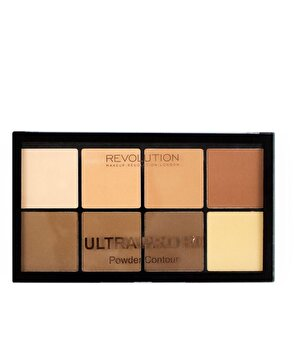 Paleta contur Ultra Pro Hd, Light Medium de la Makeup Revolution London