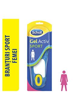 Branturi Scholl Gel Activ pentru pantofi femei, model sport de la Scholl