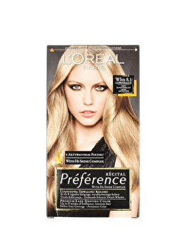 Vopsea de par permanenta cu amoniac L Oreal Paris Preference 8.1 COPENHAGUE – BLOND DESCHIS CENUSIU, 174 ml de la L Oreal Preference