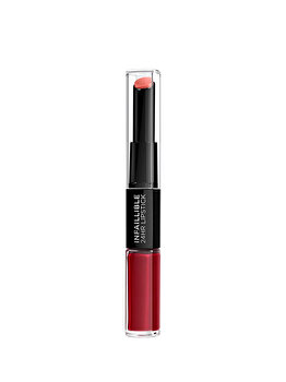 Ruj lichid, rezistent la transfer, L'Oreal Paris Infallible Long Lasting, 700 Boundless Burgundy, 5.6 ml de la L Oreal Paris