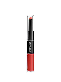 Ruj lichid rezistent la transfer L'Oreal Paris Infaillible Long Lasting 506 Red Infallible, 5.6 ml de la L Oreal Paris