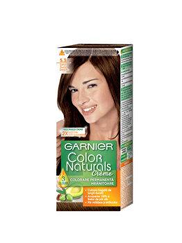 Vopsea de par permanenta cu amoniac Color Naturals 5.3 Saten Auriu Deschis, 110 ml de la Garnier Color Naturals