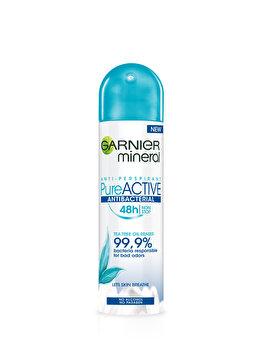 Antiperspirant Spray Garnier Pure Active, 150 ml de la Garnier