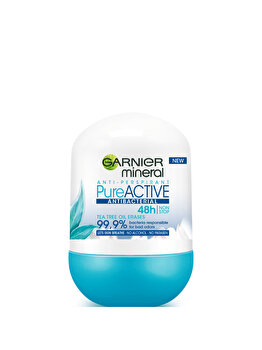 Antiperspirant Roll-on Garnier Pure Active, 50 ml de la Garnier