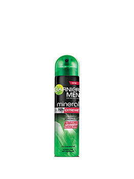 Deodorant antiperspirant spray Garnier Deo Spray Extreme barbati, 150 ml de la Garnier