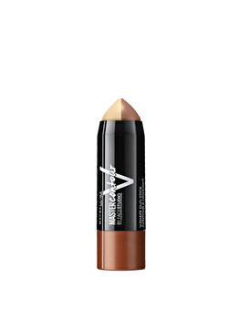 Baton de conturare a fetei Maybelline New York Master Contour V-Shape Duo 1 Light, 7 g de la Maybelline