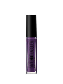 Ruj lichid Maybelline New York Color Sensational Vivid Hot Lacquer 78 Royal, 7.7 ml de la Maybelline