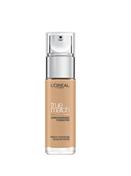 Fond de Ten L'Oreal Paris True Match 3D3W Golden Beige, 3D3W Golden Beige, 30 ml de la L Oreal Paris