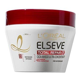Masca pentru par Total Repair 5, Par deteriorat, 300 ml de la Elseve