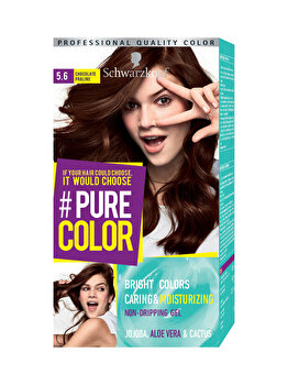 Vopsea de par Pure Color, nuanta ChocoOvrdse 5.6, 142 ml de la Schwarzkopf Pure Color