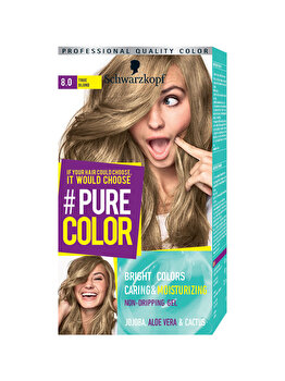 Vopsea de par Pure Color, nuanta TrueBlond 8.0, 142 ml de la Schwarzkopf Pure Color