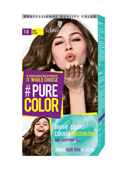 Vopsea de par Pure Color, nuanta DirtyBlond 7.0, 142 ml