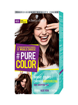 Vopsea de par Pure Color, nuanta DarkWoody 4.6, 142 ml de la Schwarzkopf Pure Color