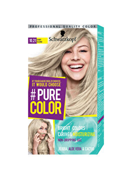 Vopsea de par Pure Color, nuanta BabyBlond 10.21, 142 ml de la Schwarzkopf Pure Color