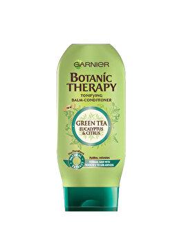 Balsam pentru par normal cu tendinta de ingrasare Garnier Botanic Therapy Ceai verde, eucalipt si portocala, 200 ml de la Garnier Botanic Therapy