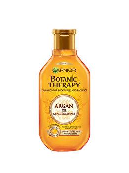 Sampon pentru par normal spre uscat tern Garnier Botanic Therapy Ulei de argan si extract de camelie, 250 ml de la Garnier Botanic Therapy