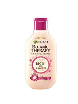 Sampon pentru par fragil cu tendinta de cadere Garnier Botanic Therapy Ulei de ricin si migdale, 250 ml de la Garnier Botanic Therapy