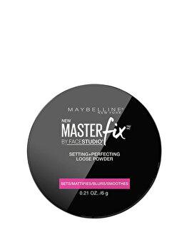 Pudra translucida libera Maybelline New York Master Fix, 6 g de la Maybelline
