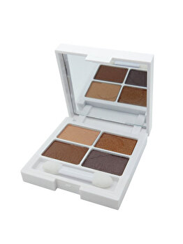 Fard de pleoape Very Vegan Eyeshadow Quad, Autumn Ambers, 6 g de la W7 London