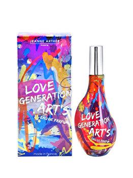 Apa de parfum Jeanne Arthes Love Generation Art's, 60 ml, pentru femei