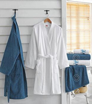 Set de textile baie pentru familie, Cotton Box, 338CTN1918, Multicolor de la Cotton Box
