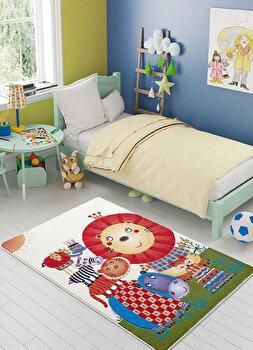 Covor Confetti, poliamida 100 procente, 100 x 150 cm, 770CNF8762, Multicolor de la Confetti