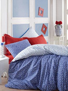 Set lenjerie pentru pat dublu Cotton Box, 129CTN2492, Multicolor