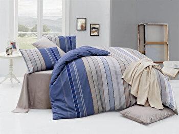 Set lenjerie pentru pat dublu Nazenin Home, 164NZN2237, Multicolor de la Nazenin Home