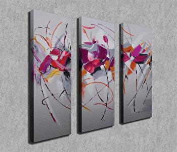 Tablou decorativ pe panza Symphony, 762SYM4273, Multicolor de la Symphony