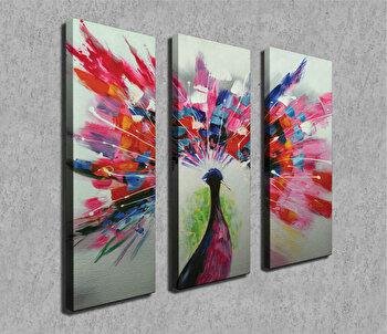 Tablou decorativ pe panza Symphony, 762SYM4274, Multicolor de la Symphony
