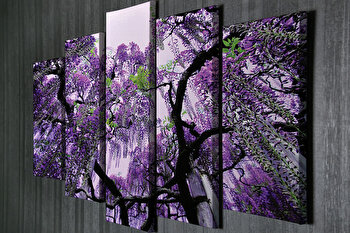 Tablou decorativ pe panza Symphony, 762SYM1205, Multicolor de la Symphony
