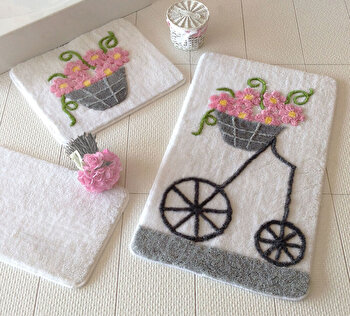 Set covorase baie Chilai Home by Alessia, 351ALS2012, Multicolor