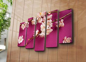 Tablou decorativ pe panza Horizon 5 Piese, 237HRZ4254, Multicolor de la Horizon