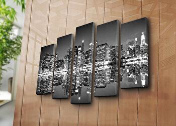 Tablou decorativ pe panza Horizon 5 Piese, 237HRZ4261, Multicolor de la Horizon