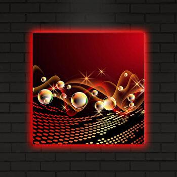 Tablou iluminat Shining, 239SHN4276, 40 x 40 cm, Multicolor