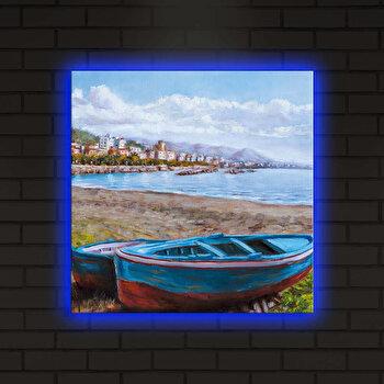 Tablou iluminat Shining, 239SHN4288, 40 x 40 cm, Multicolor