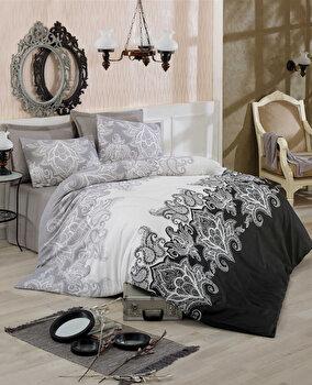 Set lenjerie pentru pat dublu Eponj Home, 143EPJ1845, Multicolor de la Eponj Home