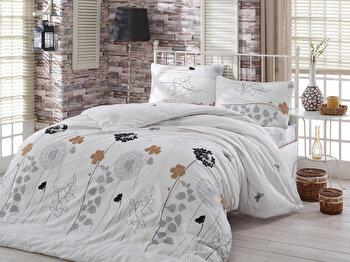 Set lenjerie pentru pat dublu Eponj Home, 143EPJ1494, Multicolor de la Eponj Home