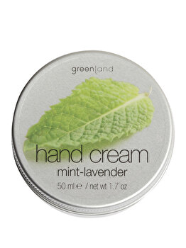 Crema de maini cu menta si levantica, 50 ml