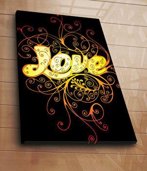 Tablou decorativ pe panza Horizon, 237HRZ5237, 70 x 100 cm, Multicolor