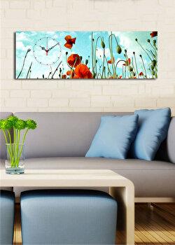 Ceas decorativ Clock Art, 228CLA1684, Multicolor