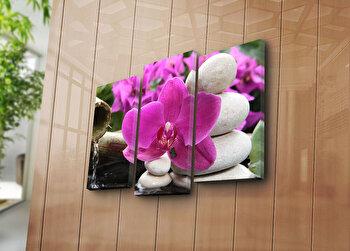 Tablou decorativ pe panza Bonanza, 3 Piese, 242BNZ3276, Multicolor de la Bonanza
