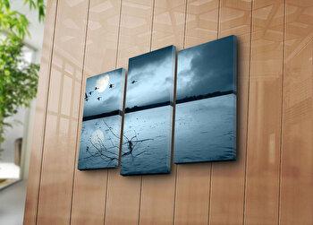 Tablou decorativ pe panza Sightly, 3 Piese, 252SGH1260, Multicolor de la Sightly