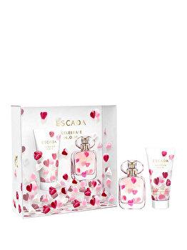 Set cadou Escada Celebrate Now (Apa de parfum 30 ml + Lotiune de corp 50 ml), pentru femei de la Escada