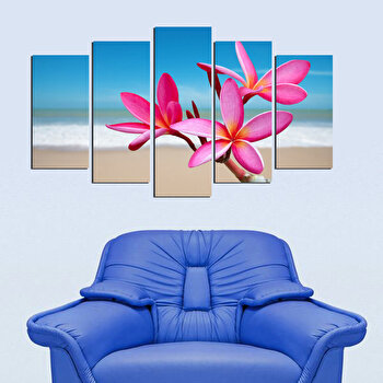 Tablou decorativ multicanvas Fascination, 5 Piese, 224FSC1916, Multicolor