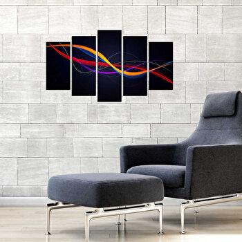 Tablou decorativ multicanvas Fascination 5 Piese, 224FSC2910, Multicolor
