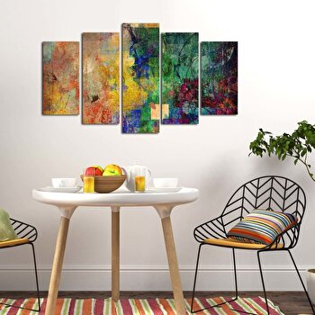 Tablou decorativ multicanvas Pure, 5 Piese, 250PUR1915, Multicolor de la Pure