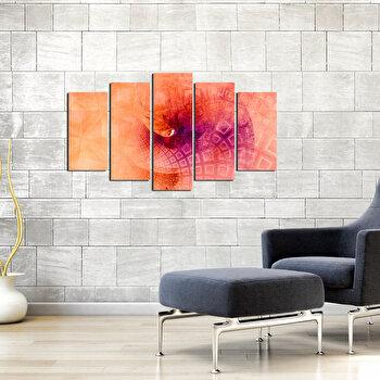 Tablou decorativ multicanvas Pure, 5 Piese, 250PUR1936, Multicolor