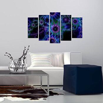 Tablou decorativ multicanvas Pure, 5 Piese, 250PUR2969, Multicolor